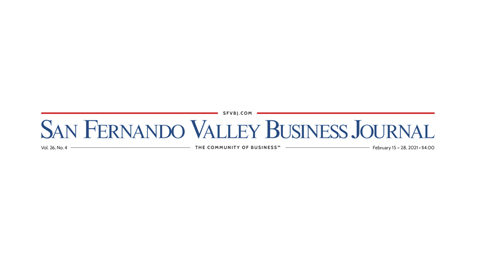 Mika Hilaire Featured on the cover of the San Fernando Valley Business Journal